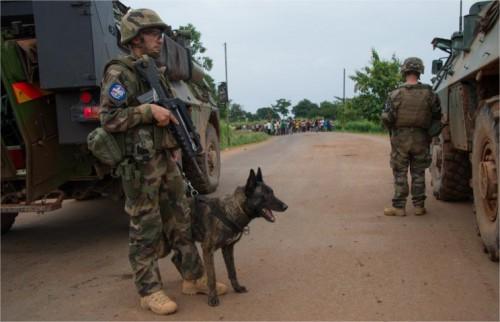 Bangui : les rentrants portent les stigmates d'une opex exténuante 3229186950.4