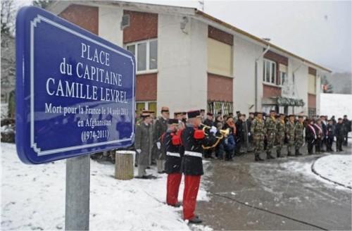 Une place Capitaine Camille Levrel à Steinbach, en Alsace 921416149