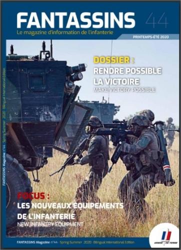 La revue Fantassins (printemps/été 2020) est en ligne sur Calameo  2832674824