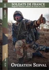 La revue Soldats de France, le magazine d'histoire militaire de l'armée de Terre, vient de sortir son 12e numéro (mars 2019). 4024679615.4