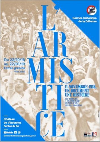 """Une exposition consacrée à """"L'Armistice, 11 novembre 1918. Un document, une histoire"""" 2067683780"""