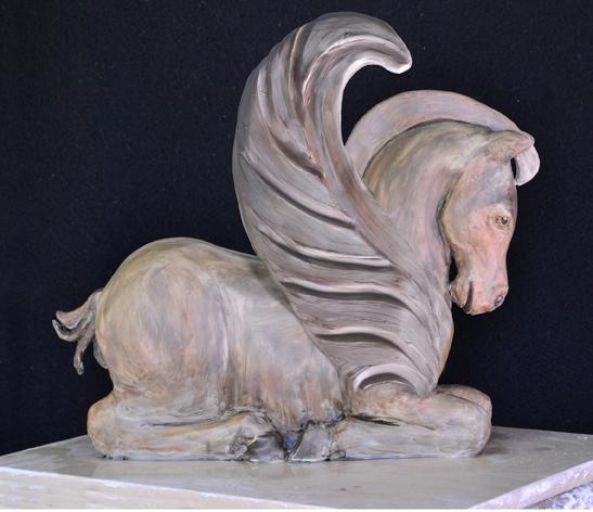 Skulpture od gline - Page 3 PegasusEd-72DW