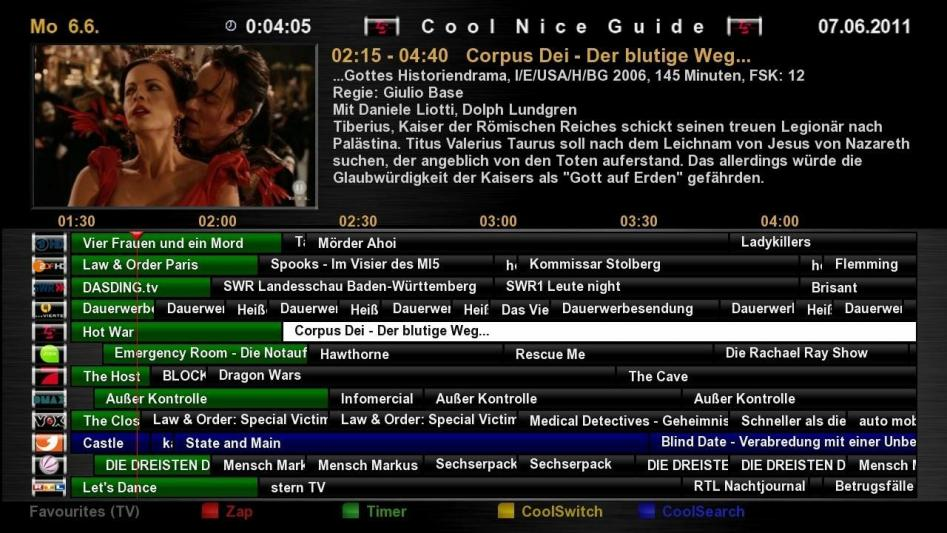 Cool TV Guide by Coolman 107