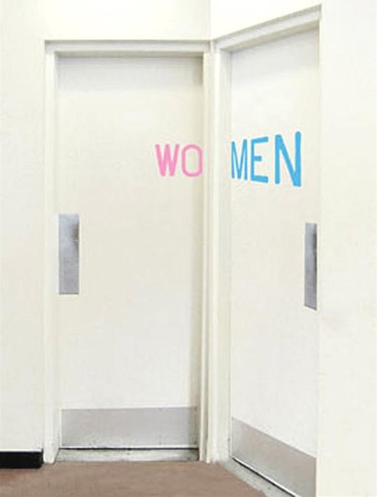10 criativas placas de casas de banho 51