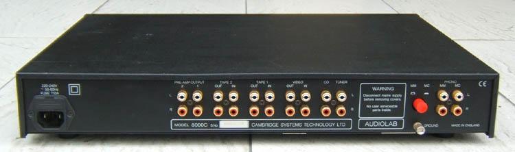 Ruido de fundo Audiolab-8000C-Black-3