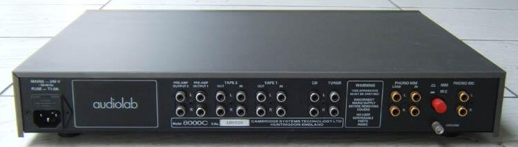 Ruido de fundo Audiolab-8000C-Grey-3