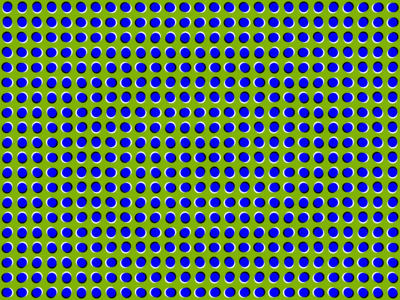 Ilusão de Ótica 800px-anomalous-motion-illusion1