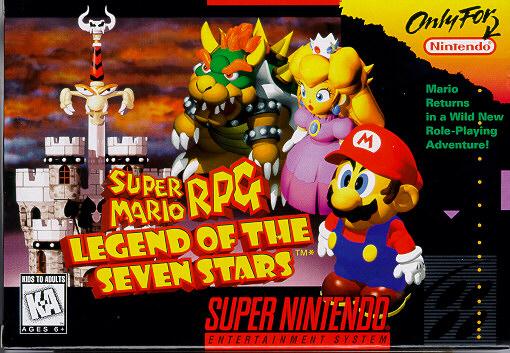 Super Mario RPG Legend of the Seven Stars Supermariorpgbox
