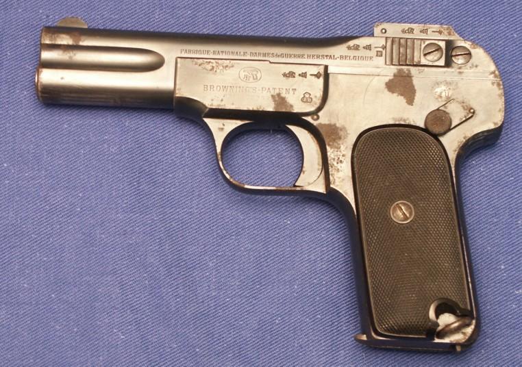 Browning 1900 et armée Française Fn%201900%20jb%20couronne-02