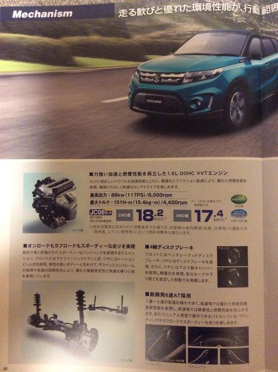 "Vitara launched in Japan as ""Suzuki Escudo 2016"" 0dc6db33-s"
