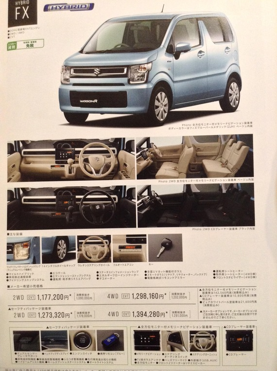 2017 - [Suzuki]  Wagon R 68bb6012-s