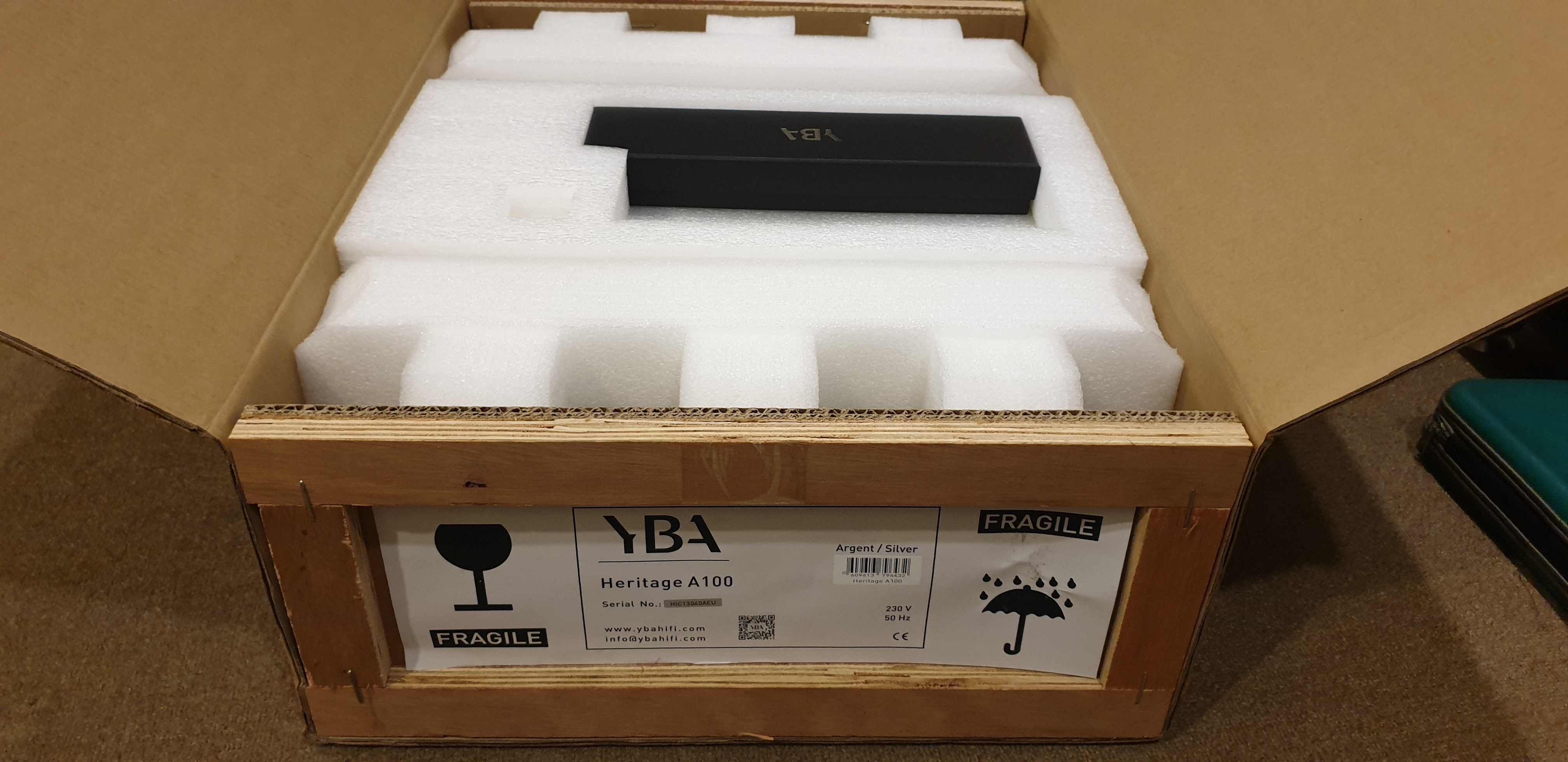 YBA Heritage A100 Integrated Amplifier (Used) 20191010_110020