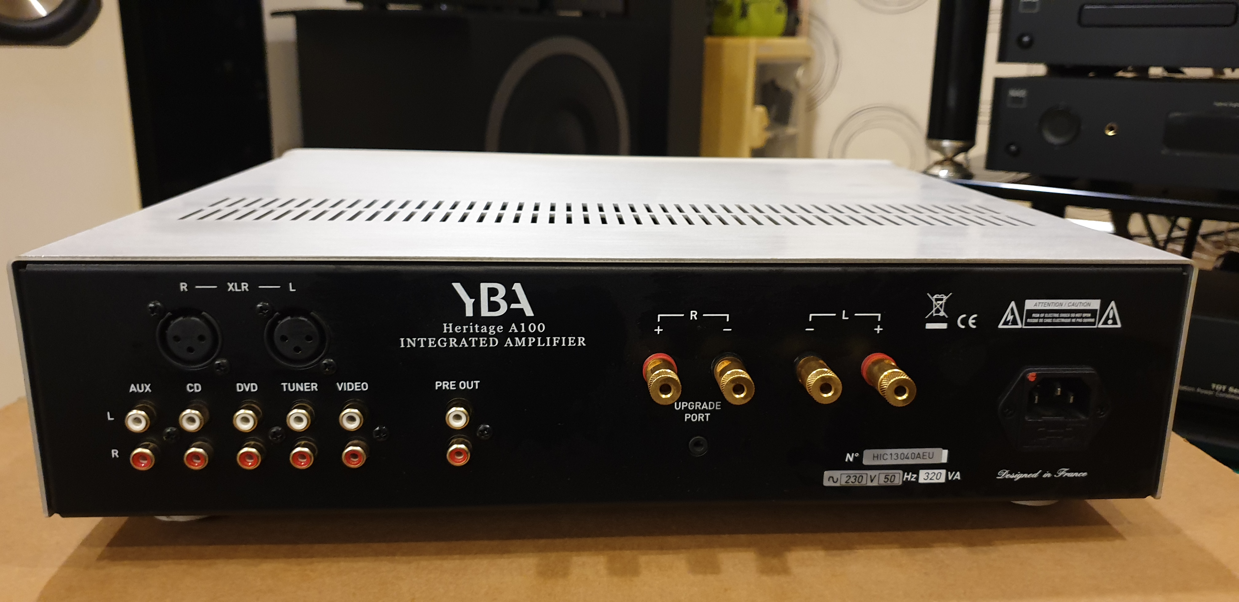 YBA Heritage A100 Integrated Amplifier (Used) 20191010_110353