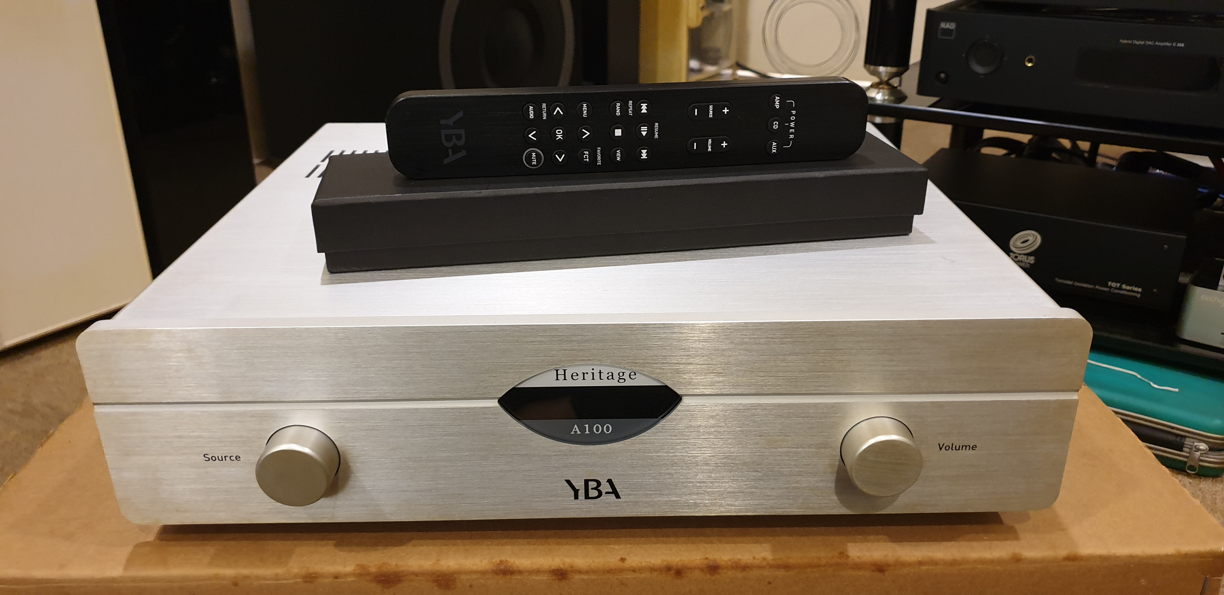YBA Heritage A100 Integrated Amplifier (Used) 20191010_110510