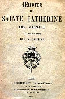 Oeuvres de sainte Catherine de Sienne Image