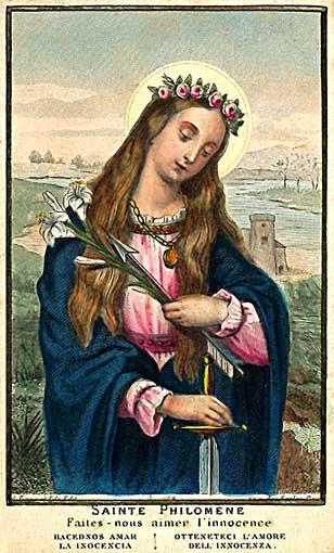 À l'école virtuelle de la sainteté des Enfants (2) Philomene