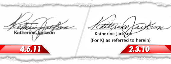 Gli esecutori patrimoniali di MJ citano la Heal The World e la fondazione ribatte 0412-k-jackson-signatures