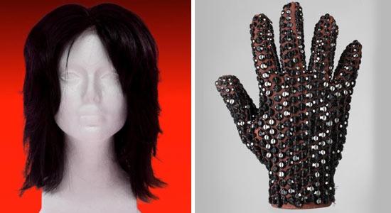 La giacca del video di Thriller e altri oggetti saranno messi all'asta 0606-mj-wig-glove