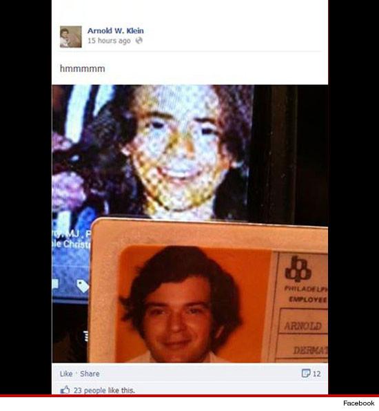 """[SMENTITO] Il Dott. Arnold Klein """"suggerisce"""" su Facebook di essere il padre di Prince Michael 0117-arnie-klein-facebook-5"""