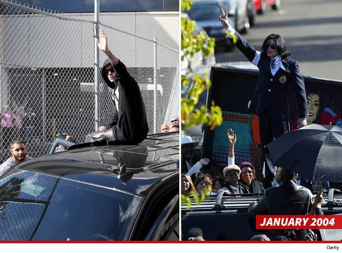 Justin Bieber copia MJ indossando una mascherina in pubblico - Pagina 3 0124-justin-mj-getty-4
