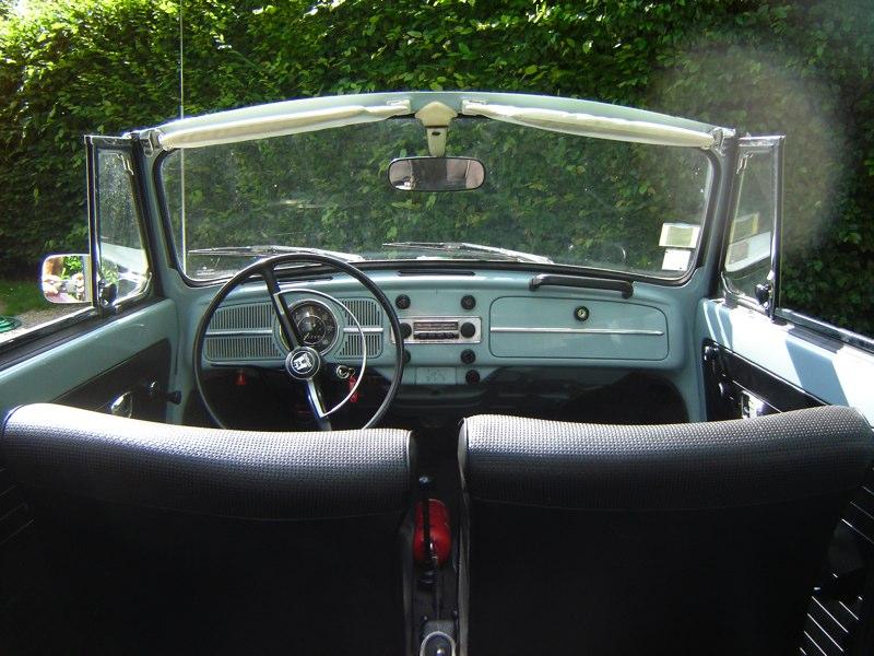 VW Coccinellle Cabriolet '69 - 1500 DSC05295