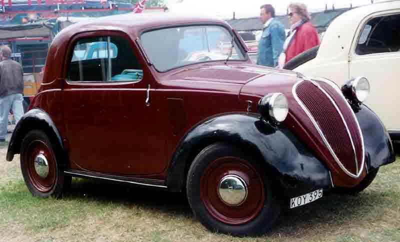 [Pixar] Cars 2 (2011) - Sujet de pré-sortie - Page 15 Fiat_500A_Standard_Coupe_1939