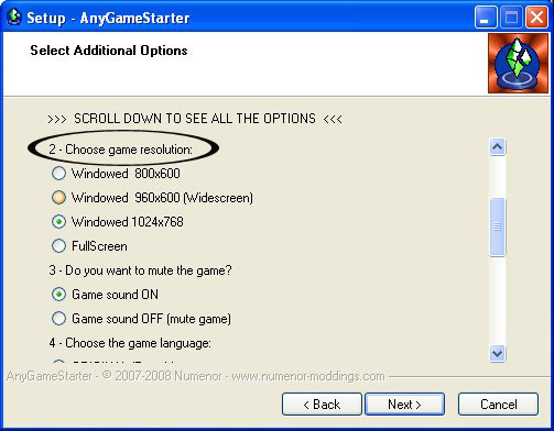 [Apprenti] AnyGame Starter Any07