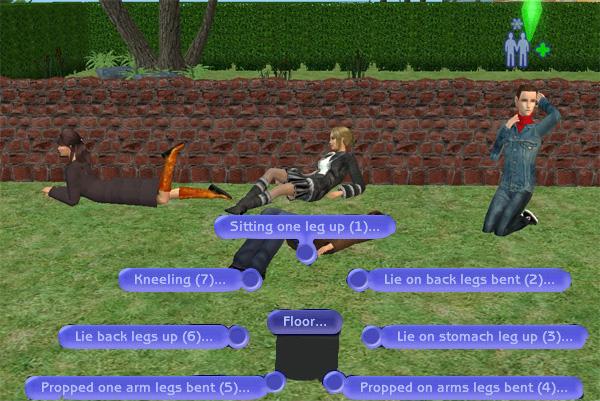 "[Sims 2] Photos Mode avec les ""Poses Box""(boite à poses) Testemode3"