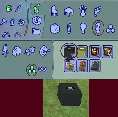 "[Sims 2] Photos Mode avec les ""Poses Box""(boite à poses) Tutomode1"