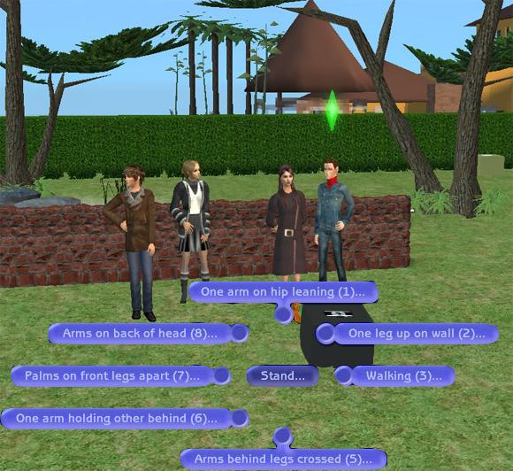 "[Sims 2] Photos Mode avec les ""Poses Box""(boite à poses) Tutomode4"