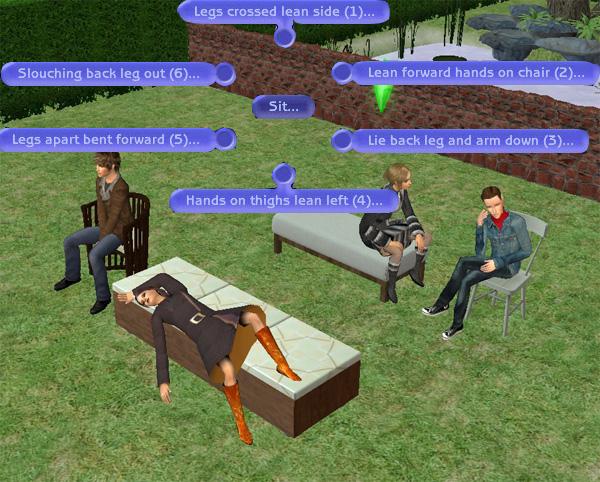 "[Sims 2] Photos Mode avec les ""Poses Box""(boite à poses) Tutomode5"