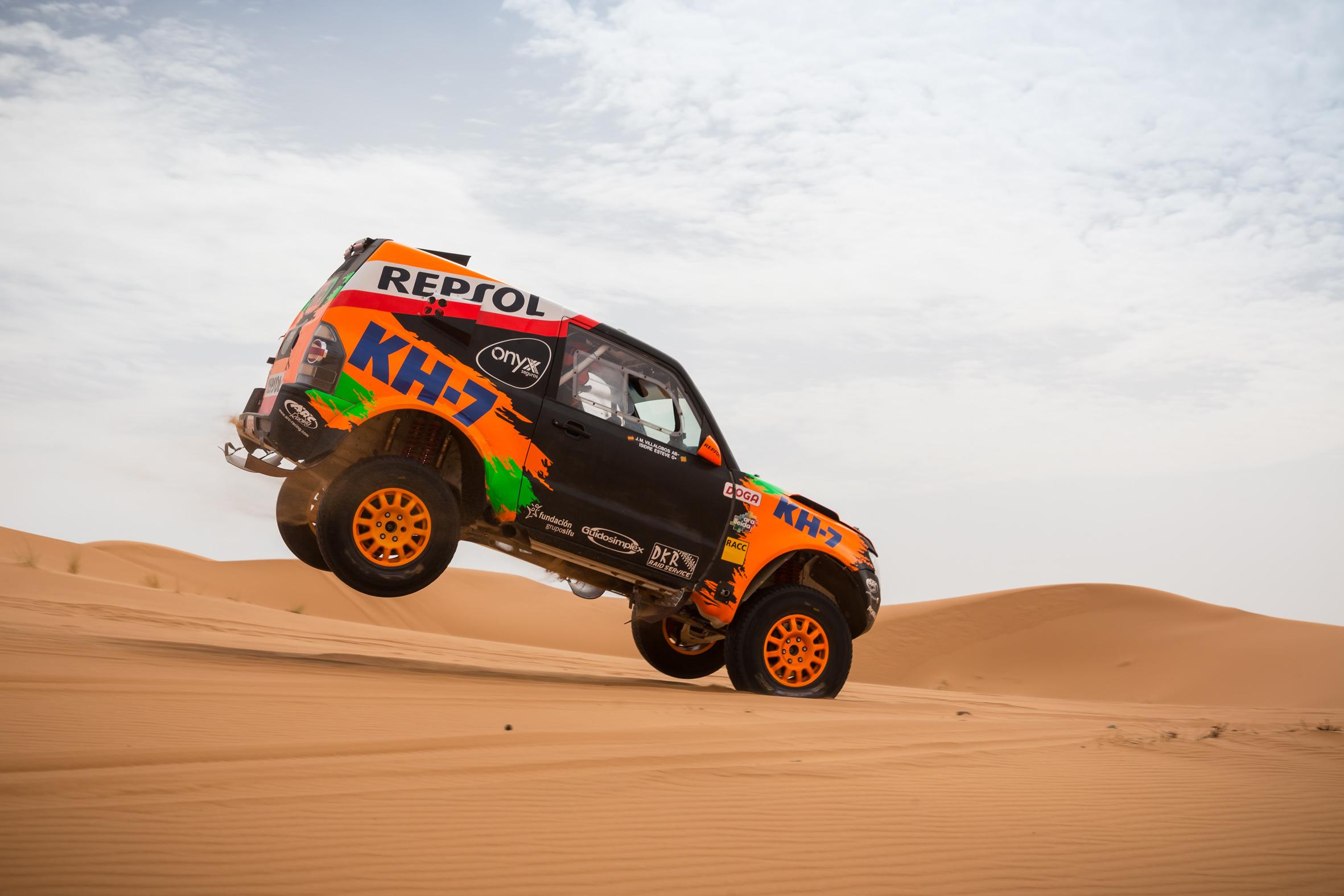 2017 Rallye Raid Dakar Paraguay - Bolivia - Argentina [2-14 Enero] - Página 3 Isidre_Esteve_Test_Marruecos_4