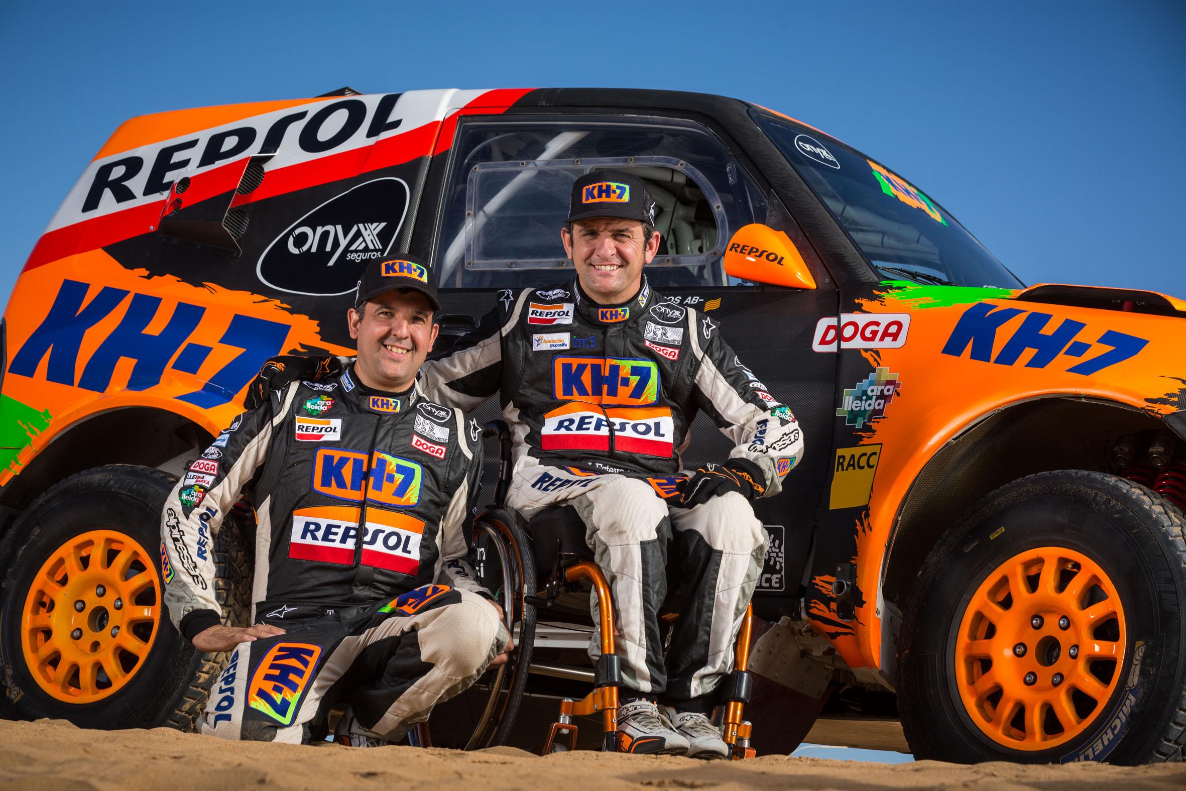 2017 Rallye Raid Dakar Paraguay - Bolivia - Argentina [2-14 Enero] - Página 3 Isidre_Esteve_Test_Marruecos_6