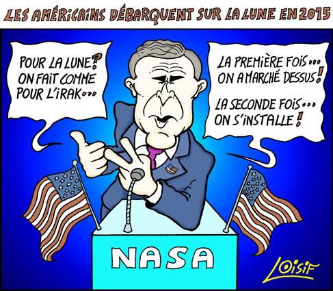 actualités Bush_Lune