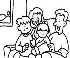 المسؤولية الأسرية Coloriage-famille