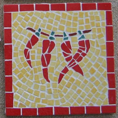 Mosaique Piments