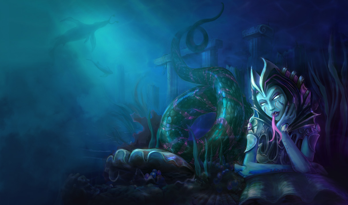 P.O League Of Legends Champs And Skins Siren-Cassiopeia