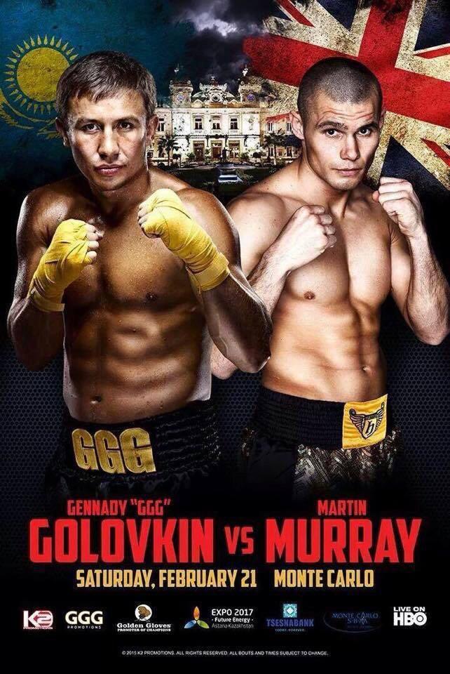 Boxeo GennadyGolovkinvsMartinMurray