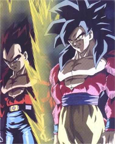 Las transformaciones de Goku Goku-vegeta-sssj4