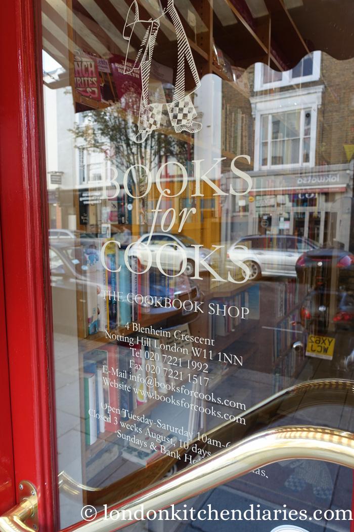 Les meilleures librairies de Londres Books-for-cooks-1