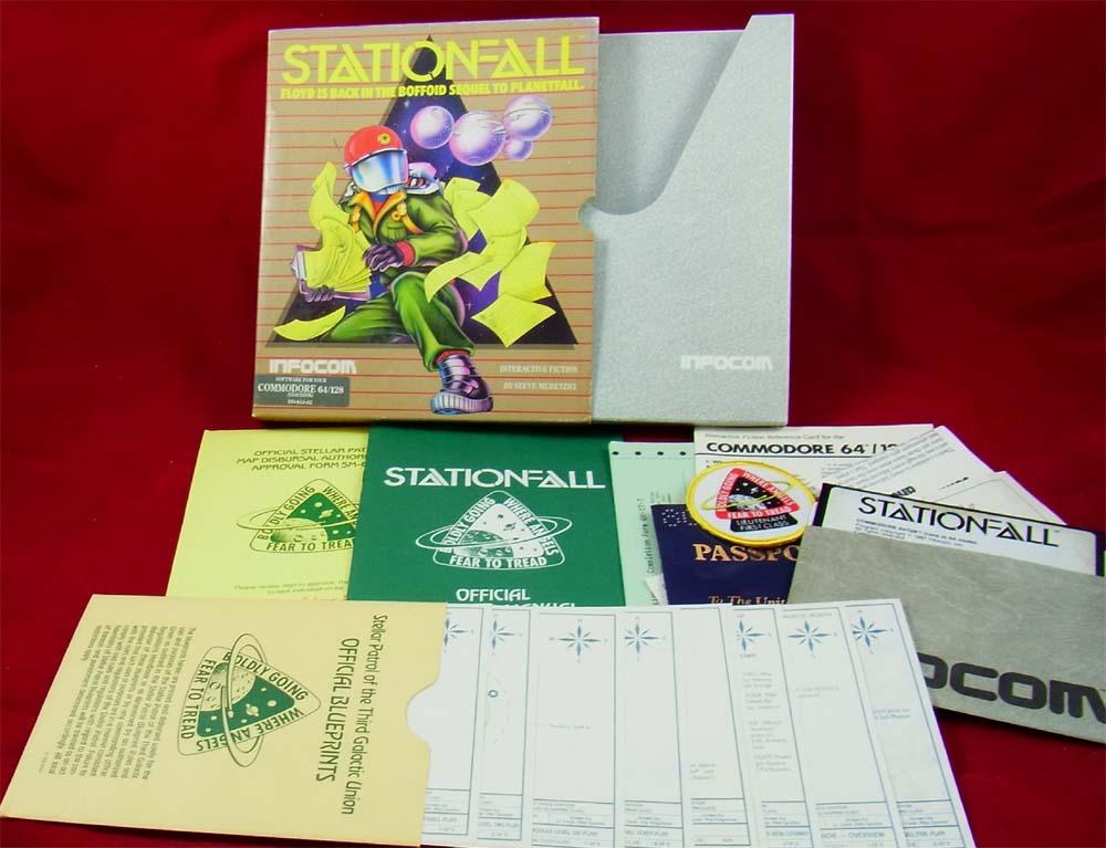 Le meilleur jeu d'aventure textuel/graphique de l'histoire de la micro Stationfall_1_1