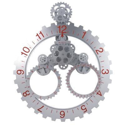 நேரம் பழையதாகிவிட்டது  Wall_gear_clock_white