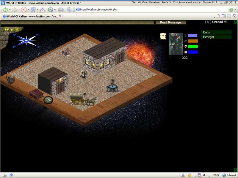 World of Kallen - Web Game (Inglês) Screen2