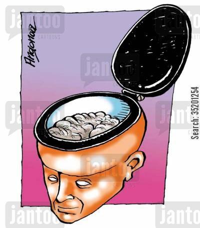 Aseo intelectual.  Miscellaneous-brainy-stupidity-idiots-toilets-brain-35201254_low