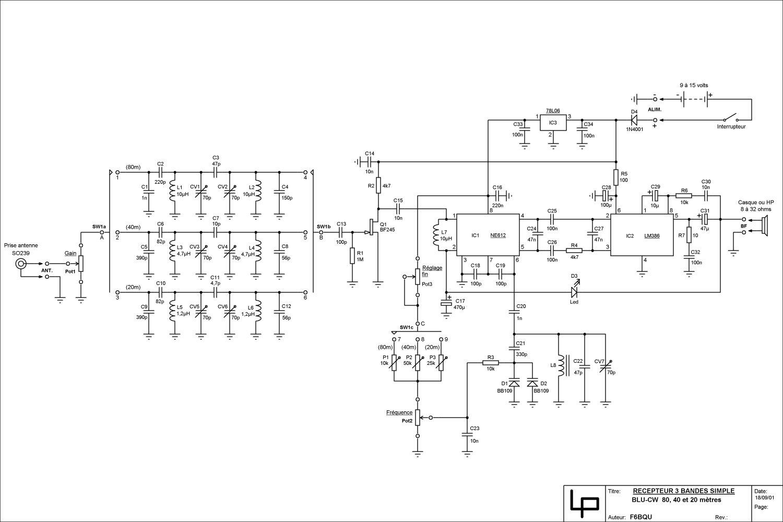 Projet (encore très vague mais ça ce précise) de tranceiver 20m Rx3bds4