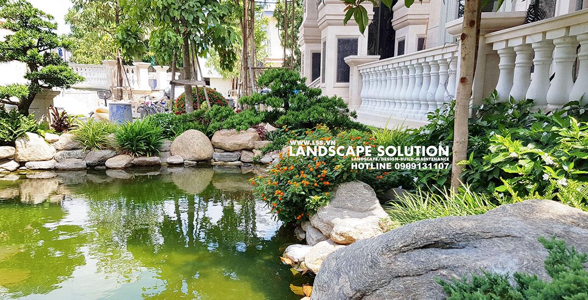 6 Phong Cách Thiết Kế Hồ Cá Koi Đẹp Nhất Cho Sân Vườn Biệt Thự 2019 6-phong-cach-thiet-ke-ho-ca-Koi-dep-nhat-cho-san-vuon-biet-thu-(5)