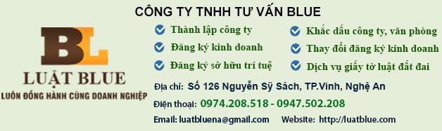 Đăng tin rao vặt: Thành lập công ty nhanh chóng - Giá rẻ nhất tại Nghệ An - luatblue.com Lienheblue