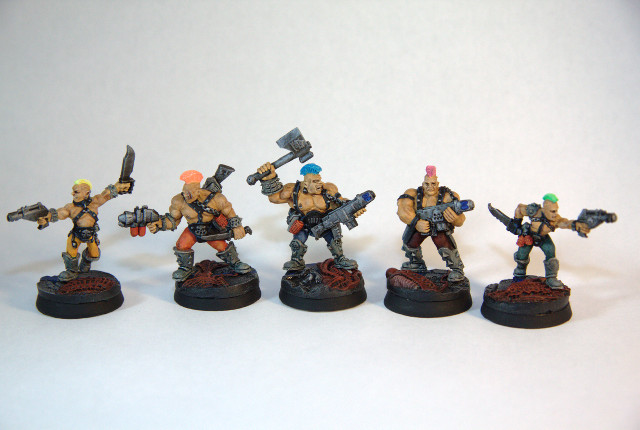 Inquisition War models Warband