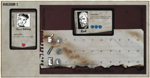 "THE WALKING DEAD ""The Boardgame"" Image8"