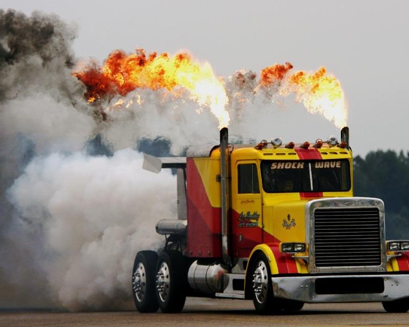 Camion mas potente del mundo TruckShockWave